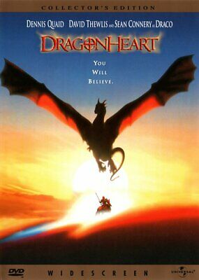 LIKE NEW! - DragonHeart: Collector's Edition (DVD, 1998, WS) - Dennis Quaid