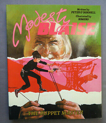 MODESTY BLAISE 6 The Puppet Master - P. O'DONNELL - TITAN BOOKS 1987 1st Edition