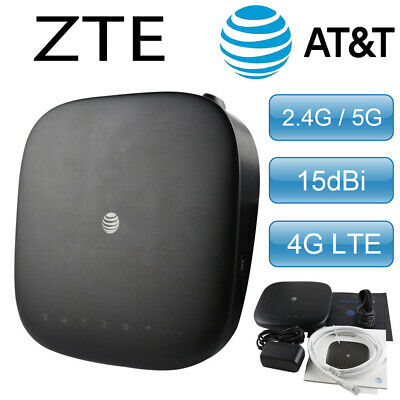 ZTE HOME BASE Wireless WiFi 4G LTE Internet Router Hotspot (AT&T