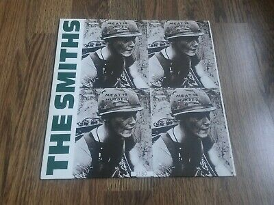 """The Smiths - Meat Is Murder 10"""" Low Number 1993 Wea Ex"""