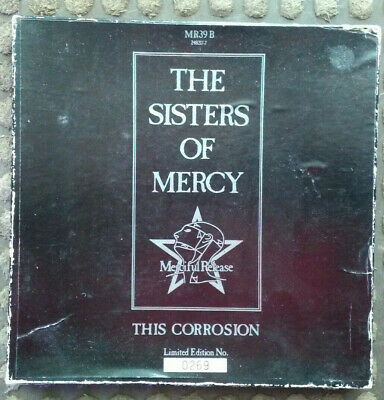 """The Sisters Of Mercy ~This Corrosion~ Limited Edition 7"""" Vinyl Box With Cards~"""