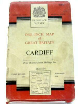 One-Inch Map of Great Britain: Cardiff Sheet 154 (Anon - 1956) (ID:03657)