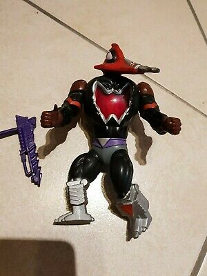 VINTAGE HE MAN MASTERS OF THE UNIVERSE Moskitor mosquito completo con arma