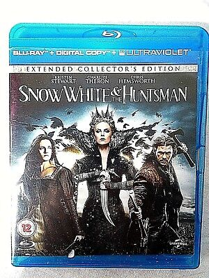 Snow White & The Huntsman Blu Ray DVD Extended Collectors Edition