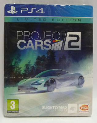 Project Cars 2 Limited Edition - Ps4 - Nuovo - New Sealed Pal