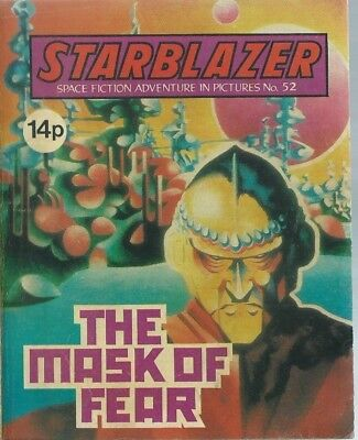 The Mask Of Fear,starblazer Space Fiction Adventure In Pictures,comic,no.52