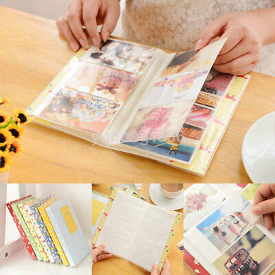 84Pockets Mini Photo Album Storage Box Household Friends Savings Memory Souvenir
