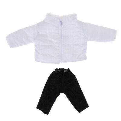 Doll Outfit Winter Down Coat Parka Jacket Coat and Pants For 16'' Salon Doll