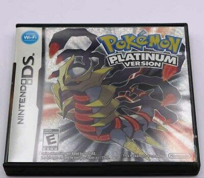 Pokemon Platinum version Nintendo DS Game for NDS Lite DSI 2DS 3DS