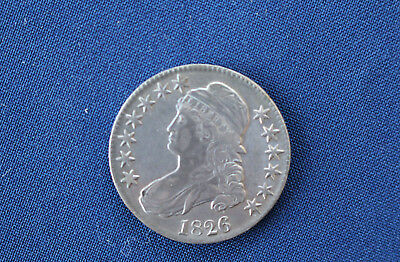 1826 Capped Bust Silver Half Dollar Great Type Coin M1061