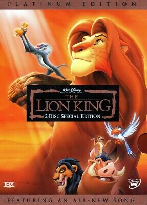 LIKE NEW! - The Lion King: SE/PE (DVD, 2003, WS, 2-Disc Set) - OUT OF PRINT