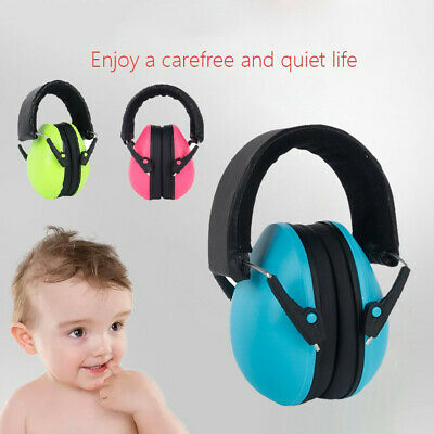 Ear Muff Defenders Noise Reduction Comfort Festival Protection Kids Childs Baby