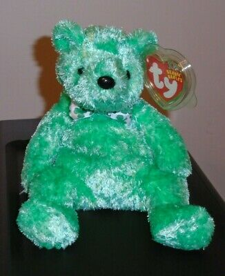 1d068cc9d10 TY BEANIE BABY ~ LUCK-e the Irish Bear (Internet Exclusive)(7.5 Inch ...