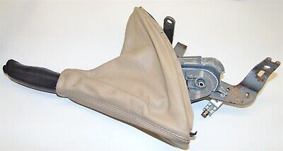 Parking Hand Brake Lever Handle Boot Leather Beige Bmw E46 323 325 328 330 M3