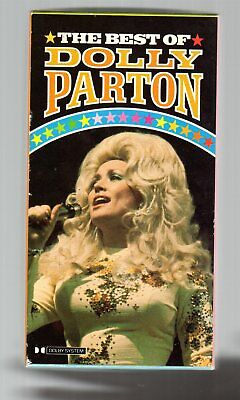 Dolly Parton - 3 x Cassette Collection Box Set 'The Best of Dolly Parton' - 1984