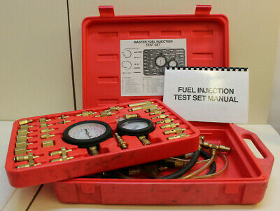 GSI Industries Master Fuel Injection Test Set NO. 2000 - Fast Free Shipping!