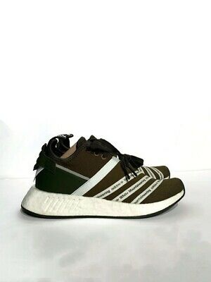 bda01b019 Adidas Wm Nmd R2 Pk Sample White Mountaineering Trace Olive Green Cg3649  New 6.5