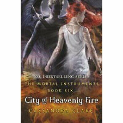 City of Heavenly Fire (The Mortal Instruments) New Paperback Book Cassandra Clar