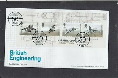 GB 2019 British Engineering MS Royal Mail First Day Cover Kingston Upon Thames