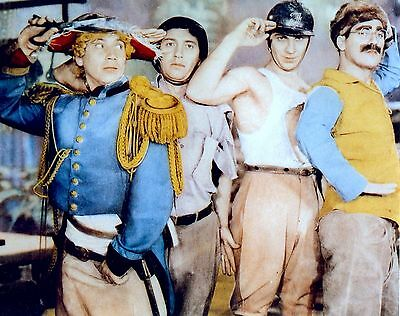 Rare Still THE FOUR MARX BROTHERS IN COLOR