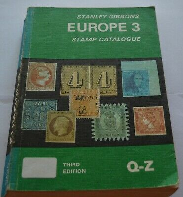 Stanley Gibbons Europe 3 Stamp Catalogue Q-Z Third Edition