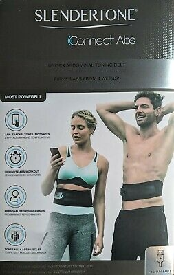 NEW Slendertone Unisex Connect App Based Abdominal Toning Belt - Men & Women