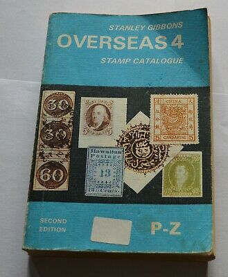 Stanley Gibbons Overseas 4 Stamp Collection P-Z Second Edition