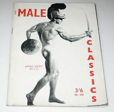 1950's MALE CLASSICS #16 Male Gay Magazines BODY BUILDING Muscles