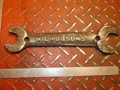 Vintage Nicholsons Tractor Toolkit Spanner Wrench 6707 Collectable