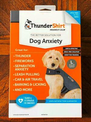 ThunderShirt Better Solution for Dog Anxiety Training Behavior Large New in Box!