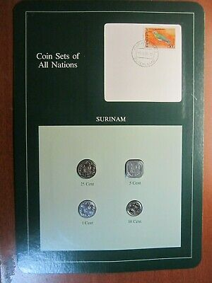 Coin Sets of All Nations Surinam UNC 1982/85