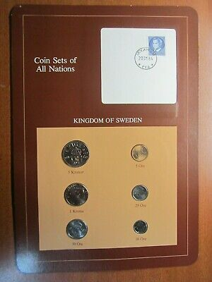 Coin Sets of All Nations Sweden 1983