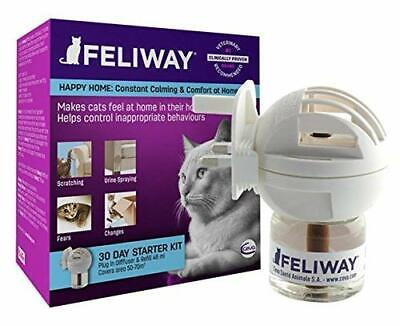 FELIWAY Classic 30 Day STARTER KIT Calm Cats Aggression, relief stress for cats