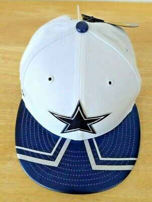 detailed look 6533a 4b18c New Era Dallas Cowboys 5950 NFL 2017 Draft On Stage White Fitted Hat Size 7  1