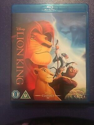 The Lion King [Blu-ray] [1994] [Region Free] Works in all Bluray players
