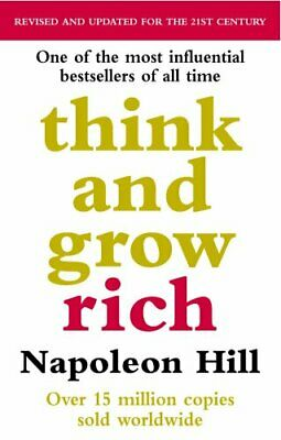Think and Grow Rich New Paperback Book Napoleon Hill