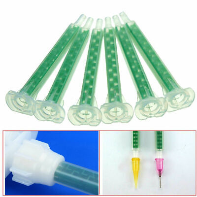 Plastic AB Mixed Tube Resin Static Mouth Mixing 50pcs/set 83mm High Quality New