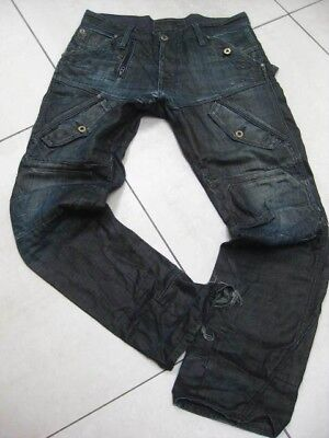 MENS G STAR JEANS denim SCUBA ELWOOD TAPERED JEANS size W 32