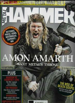 METAL HAMMER Magazine - No.322 Jun.19(NEW)*Post included to UK/Europe/USA/Canada