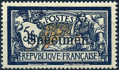 France Type Merson Cours Instruction N° 123Ci3 Neuf * Avec Charniere