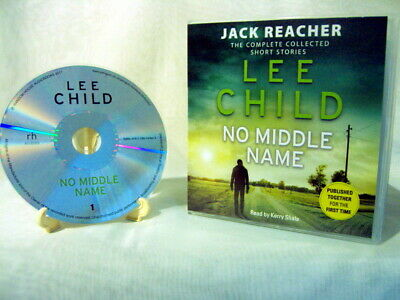 Lee Child NO MIDDLE NAME Audio Book 9 CDs 11hrs:30mins unabridged