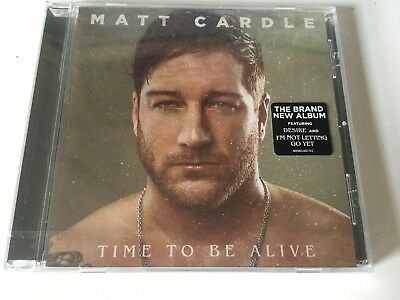 Matt Cardle SEALED 2018 CD ALBUM Time To Be Alive