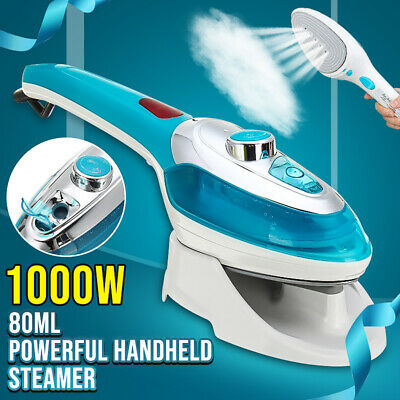 1000W Portable Handheld Electric Steam Iron Steamer Brush Travel Laundry Clothe
