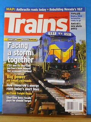 Trains Magazine 2009 June Anthracite roads today Facing a storm together