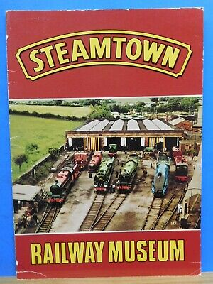 Steamtown Railway Museum Carnforth Lancashire Booklet 1975 Approx 20 pages