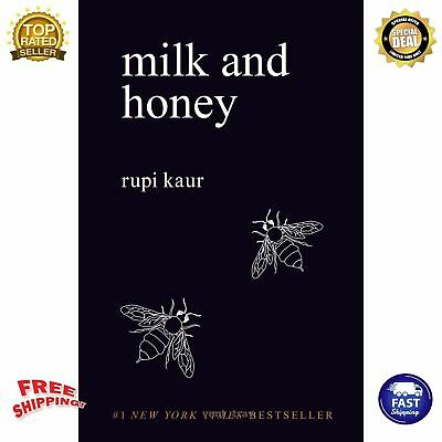 Milk and Honey by Rupi Kaur English Paperback Book New York Times Bestseller New