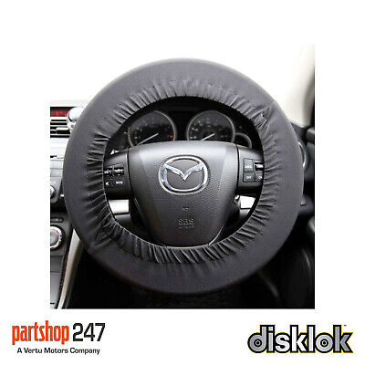 Disklok Car Steering Wheel Protective Cover Stretch Cover Silver - Universal Fit