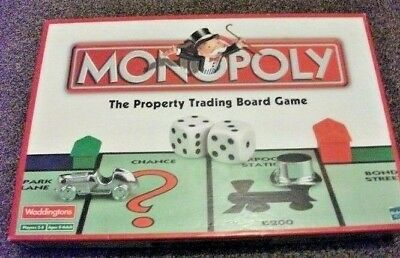 SPARE PARTS  Monopoly board game - Waddingtons 2002 - Cards Pieces Board