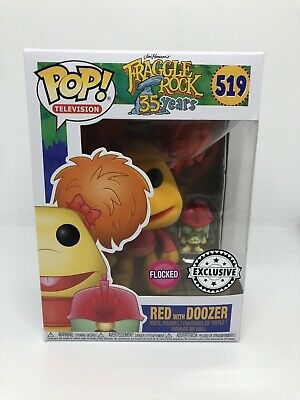 Funko Pop Vinyl - Fraggle Rock - Red with Doozer Flocked