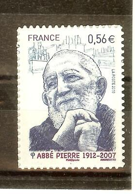 Timbre France Autoadhesif 2010 N° 389 Neuf ** Abbe Pierre